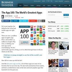 100 Best Apps