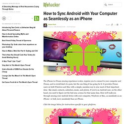 How to Sync Android with Your Computer as Seamlessly as an iPhone