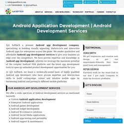 Android App Development, Cutting Edge Android Development Company