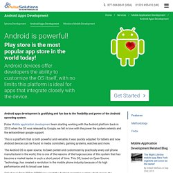 Android Apps Development, Google Apps Development