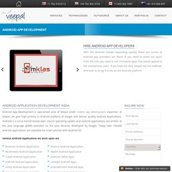 Android App Development - Veepal IT Services