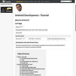Android Development Tutorial - Gingerbread