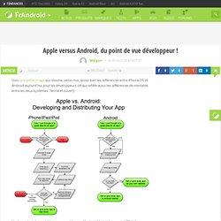 Apple versus Android, du point de vue développeur ! « FrAndroid Communauté Android