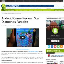Android Game Review: Star Diamonds Paradise