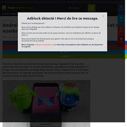 Android 7.1.1 Nougat disponible pour les Pixel et de nombreux Nexus