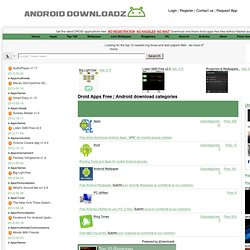 Android download categories