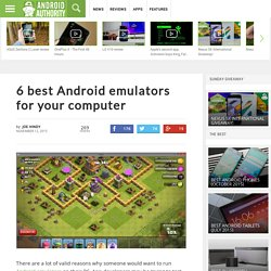 6 best Android emulators for your computer