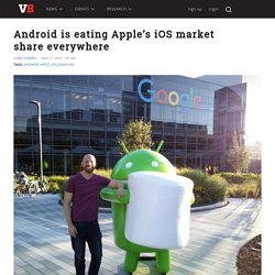 Android is eating Apple's iOS market share everywhere
