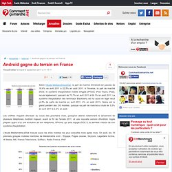 Android gagne du terrain en France