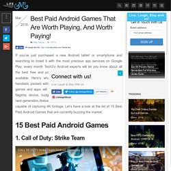 Best Paid Android Games That Are Worth Playing, And Worth Paying!