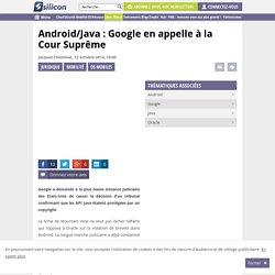 Android/Java : Google en appelle à la Cour Suprême
