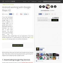Android Google Maps V2 Tutorial