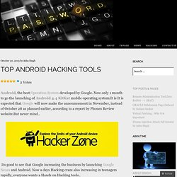 Top Android Hacking Tools