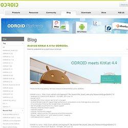 ODROIDs blog