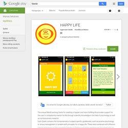 HAPPY LIFE— Android lietotnes pakalpojumā Google Play