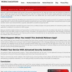 How Android malware can hide itself to steal your device data?