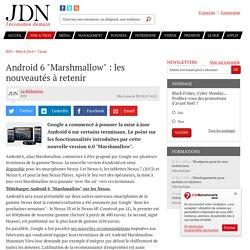 Android M : les nouveautés dévoilées