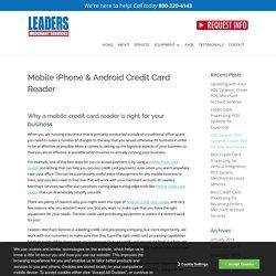 Credit Card Swiper foriPhone