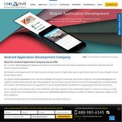 Android Mobile App Development, Android App Development