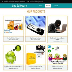 Spy Android Mobile Phone Software App Shop in Delhi India