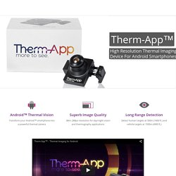 Android Mobile Thermal Camera - Therm-App