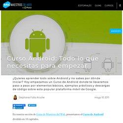 Curso Android: Todo lo que necesitas para empezar