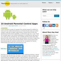 10 Android Parental Control Apps - Yoursphere for Parents
