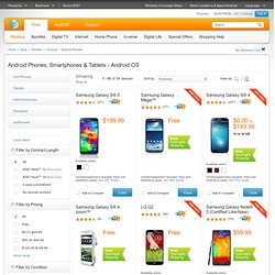 Android Smartphones - Motorola, Dell, HTC - Wireless from AT