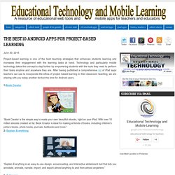 The Best 10 Android Apps for Project-based Learning