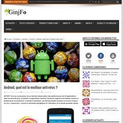29/12/15 Android, quel est le meilleur anti-virus