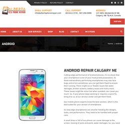 Cell Phone Screen Repair Calgary