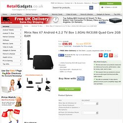 Minix Neo X7 Android 4.2.2 TV Box 1.8GHz RK3188 Quad Core 2GB RAM :: Android TV Box :: RetailGadgets.co.uk