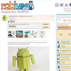 Android Robot - Download and make!