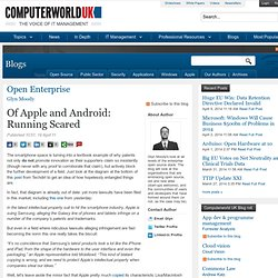 Of Apple and Android: Running Scared