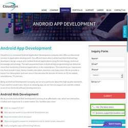 Android App, Android Web, Android Game, Android Software – Development