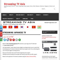 Streaming TV Asia