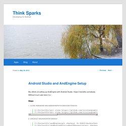 Android Studio and AndEngine Setup