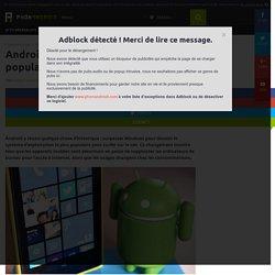 Android surpasse Windows et devient le plus populaire pour surfer sur le net
