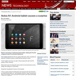 Nokia N1 Android tablet causes a surprise