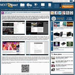 Télé7 pour Android : une version tablette pour le programme télé