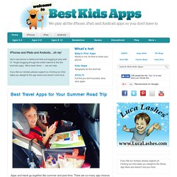 Best Kids Apps | iPhone, iPad, Android | Toddlers, Educational, Games