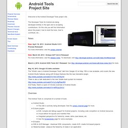 Android Tools Project Site