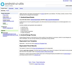 android-ui-utils - Android UI Utilities