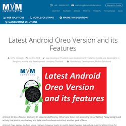 Latest Android Oreo Version and its Features