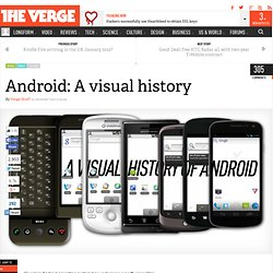 Android: A visual history