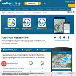 Wetter-Apps für iOS, Android und Windows Phone - wetteronline.de