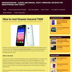 AndroidGround - guides and manual, root, firmware, reviews for smartphones and tablet