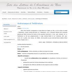 Andromaque et Twittérature