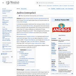 Andros (entreprise)