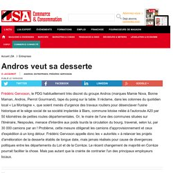 Andros veut sa desserte